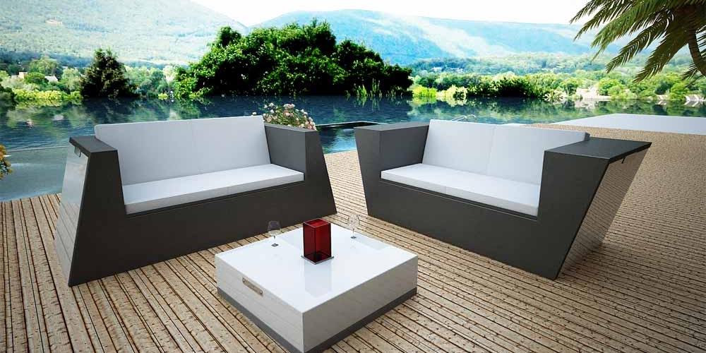 Idv d co design mobilier m tallique int rieur et ext rieur - Meuble rotin exterieur ...