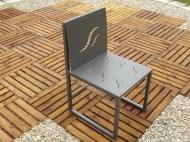 mobilier m tallique chaise. Black Bedroom Furniture Sets. Home Design Ideas